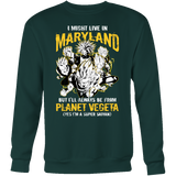 Super Saiyan Maryland Sweatshirt T shirt - TL00089SW