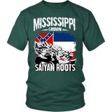Super Saiyan - Mississippi - Men Short Sleeve T Shirt - TL00164SS