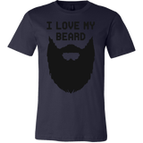 I love My Beard Men Short Sleeve Funny T Shirt - TL00640SS