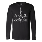 Halloween - a girl has no costume - Men Long Sleeve T Shirt - TL00697LS