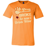 My Broom Broke So Now I Drink Wine Men Short Sleeve Halloween T Shirt - TL00633SS