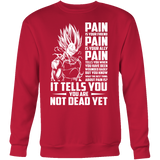 Super Saiyan Majin Vegeta Pain Sweatshirt T shirt - PF00438SW
