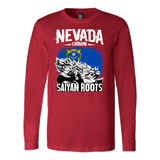 Super Saiyan Nevada Grown Saiyan Roots Long Sleeve T shirt - TL00155LS