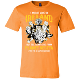 Super Saiyan I May Live In Ireland Men Short Sleeve T Shirt - TL00115SS