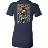 American Super Saiyan Gohan Woman Short Sleeve T shirt - TL00003WS - The TShirt Collection