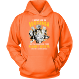 Super Saiyan Virginia Unisex Hoodie T shirt - TL00071HO