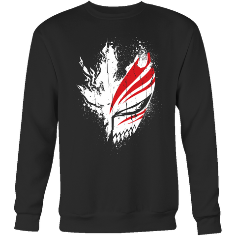 Bleach - Ichigo Mask - unisex sweatshirt t shirt - TL00856SW - The TShirt Collection