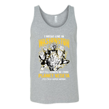 Super Saiyan Washington Unisex Tank Top T Shirt - TL00070TT