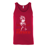 Super Saiyan Majin Vegeta Dad Unisex Tank Top T Shirt - TL00489TT