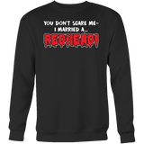Hobbies - You dont scare me i married a redhead - unisex sweatshirt t shirt - TL00836SW