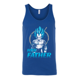 Super Saiyan Vegeta Father And Daughter Unisex Tank Top T Shirt - TL00520TT