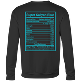 SUPER SAIYAN BLUE GOD SWEAT SHIRT -TL00175SW