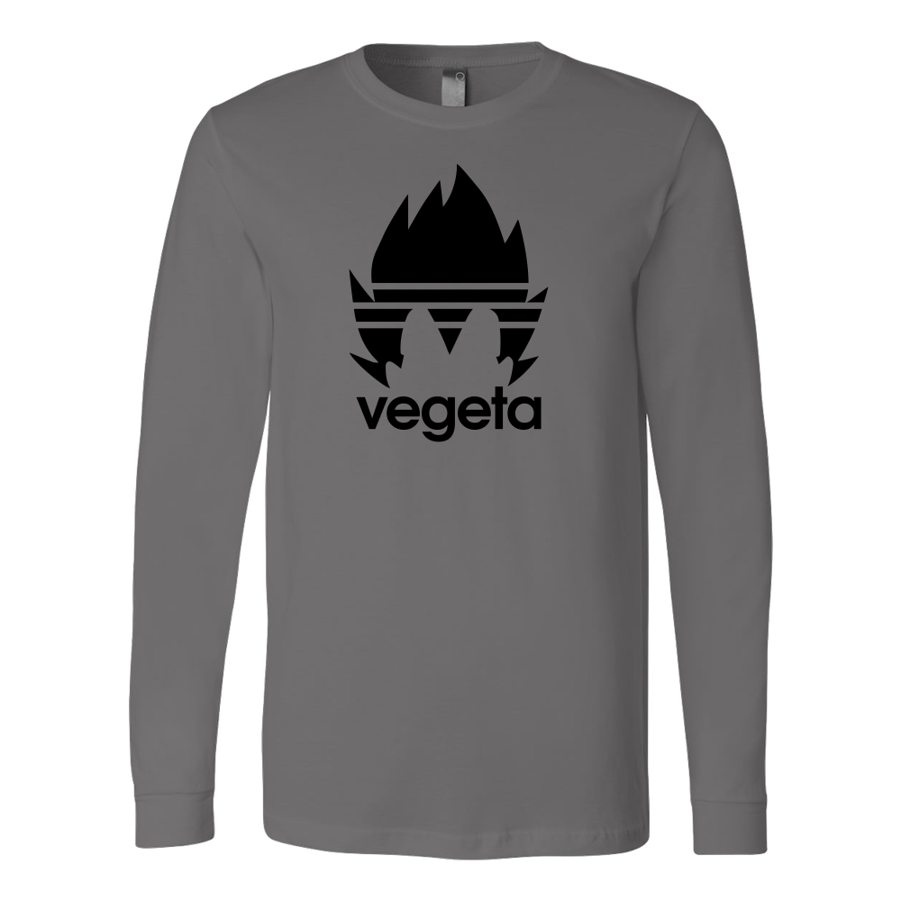 Super Saiyan Vegeta Adidas Symbol Long Sleeve T shirt - TL00537LS