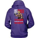 Super Saiyan Vegeta Gym No Pain No Gain Unisex Hoodie T shirt - TL00443HO