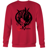 Super Saiyan Vegeta V vendetta Men Sweatshirt T Shirt - TL00542SW