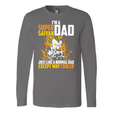 Super Saiyan Vegeta Dad Long Sleeve T shirt - TL00533LS