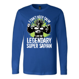 Broly Legendary Super Saiyan Long Sleeve T shirt - TL00004LS - The TShirt Collection