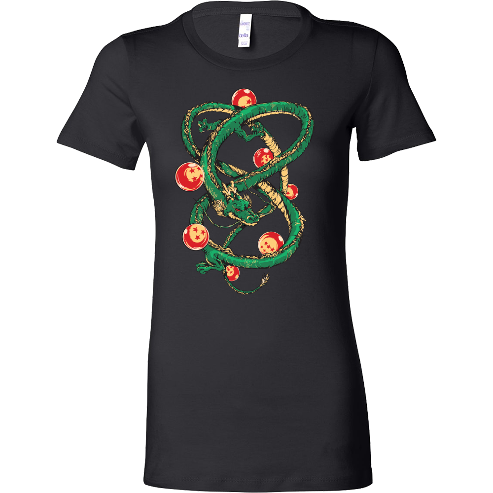 Super Saiyan Shenron with balls Woman Short Sleeve T Shirt - TL00119WS