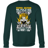 Super Saiyan Vegeta Warrior Sweatshirt T shirt - TL00120SW