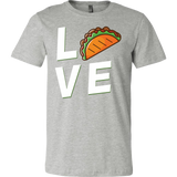 Taco mexican love Men Short Sleeve Funny T Shirt - TL00599SS