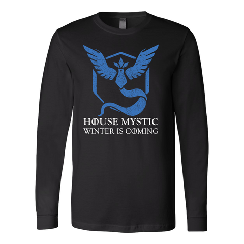 POKEMON HOUSE MYSTIC Long Sleeve T shirt - TL00620LS