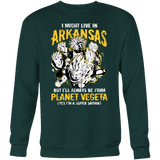 Super Saiyan Arkansas Sweatshirt T shirt - TL00096SW