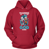 Super Saiyan - Training to go God Mode Unisex Hoodie T shirt - TL00011HO