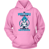 Super Saiyan Vegeta God Fair Otherwise Unisex Hoodie T shirt - TL00552HO