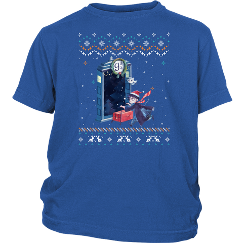Harry Potter - HP christmas - Youth Kid T Shirt - TL01118YS