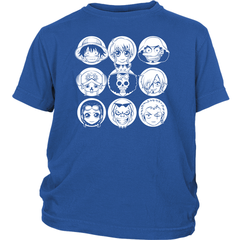 One Piece - Luffy and friends - Youth Kid T Shirt - TL00915YS