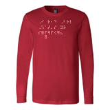 I Read Braille What's Your Superpower Long Sleeve T Shirt - TL00690LS