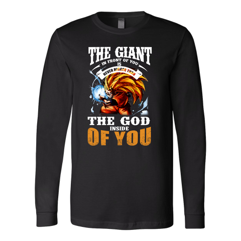 Super Saiyan - the god inside of you - Unisex Long Sleeve T Shirt - TL01171LS
