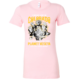 Super Saiyan I May Live in Colorado Woman Short Sleeve T shirt - TL00081WS