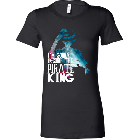 One Piece - I'm gonna be the pirate king - Woman Short Sleeve T Shirt - TL01122WS