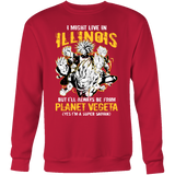 Super Saiyan ILLINOIS Group Sweatshirt T shirt - TL00064SW