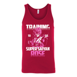 Super Saiyan - Training to go Super Saiyan Rose - Unisex Tank Top T Shirt - TL00817TT
