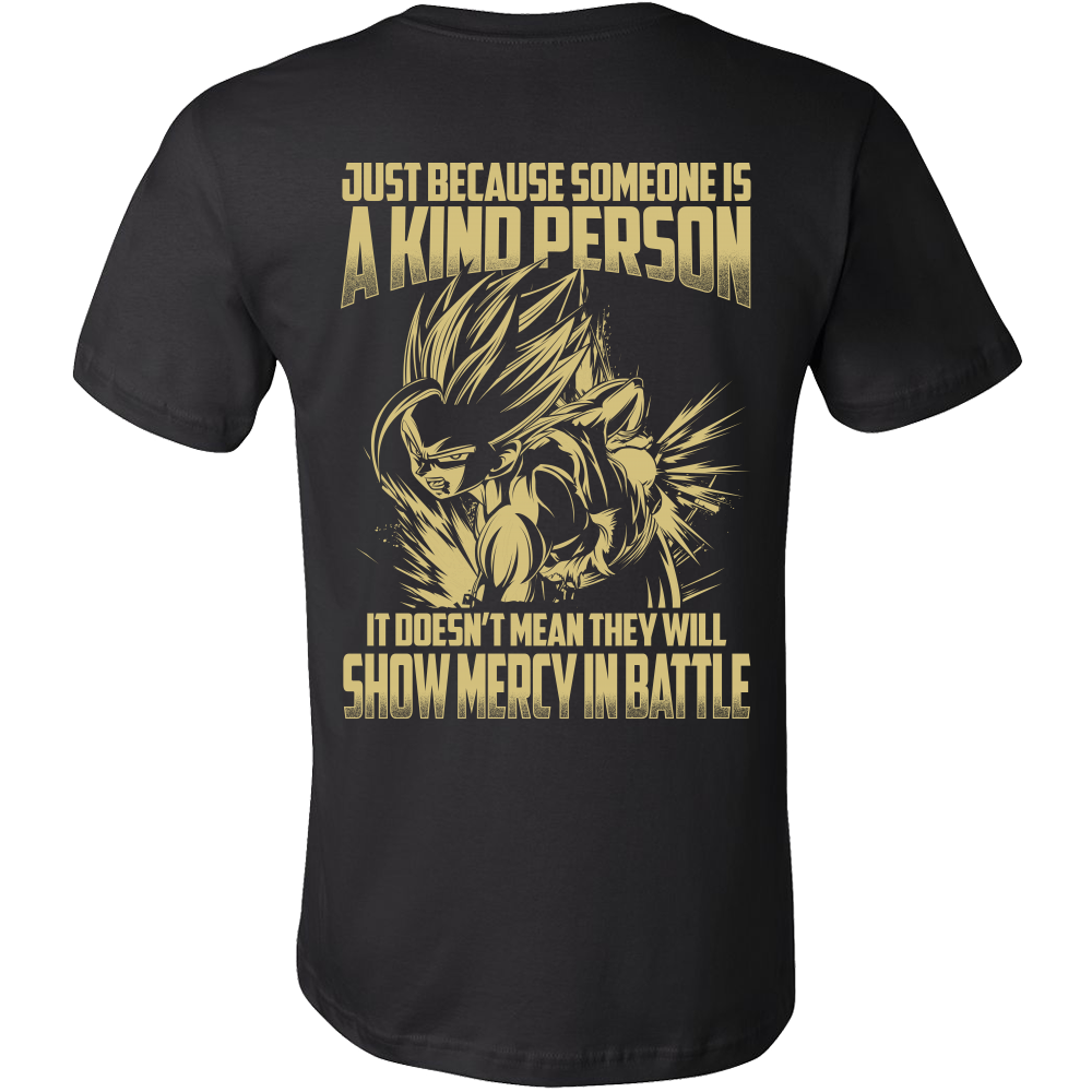 Super Saiyan Gohan Show Mercy in Battle Men Short Sleeve T Shirt - TL00446SS