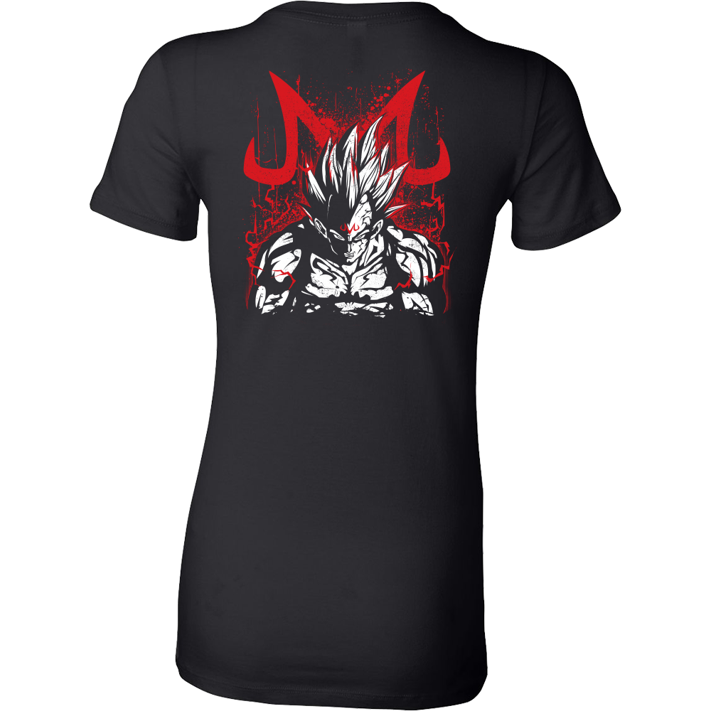 Super Saiyan - Majin Vegeta - Woman Short Sleeve T Shirt - TL00876WS