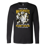 Super Saiyan Massachusetts Long Sleeve T shirt - TL00078LS