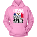 Super Saiyan Unisex Hoodie T shirt - FOR IOWA FANS - TL00161HO