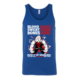 Super Saiyan Vegeta No Pain No Gain Unisex Tank Top T Shirt - TL00057TT