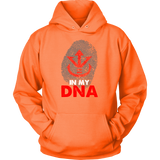 Super Saiyan Vegeta Crest in my DNA Unisex Hoodie T shirt - TL00529HO