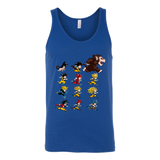 Super Saiyan Unisex Tank Top T Shirt - The Evolutions of Goku - TL00041TT