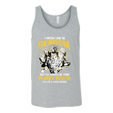Super Saiyan Georgia Unisex Tank Top T Shirt - TL00073TT