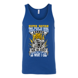 Super Saiyan Unisex Tank Top T Shirt - Warriors Goku Fans - TL00047TT