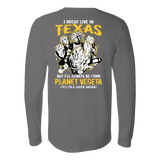 Super Saiyan Texas Group Long Sleeve T shirt - TL00061LS