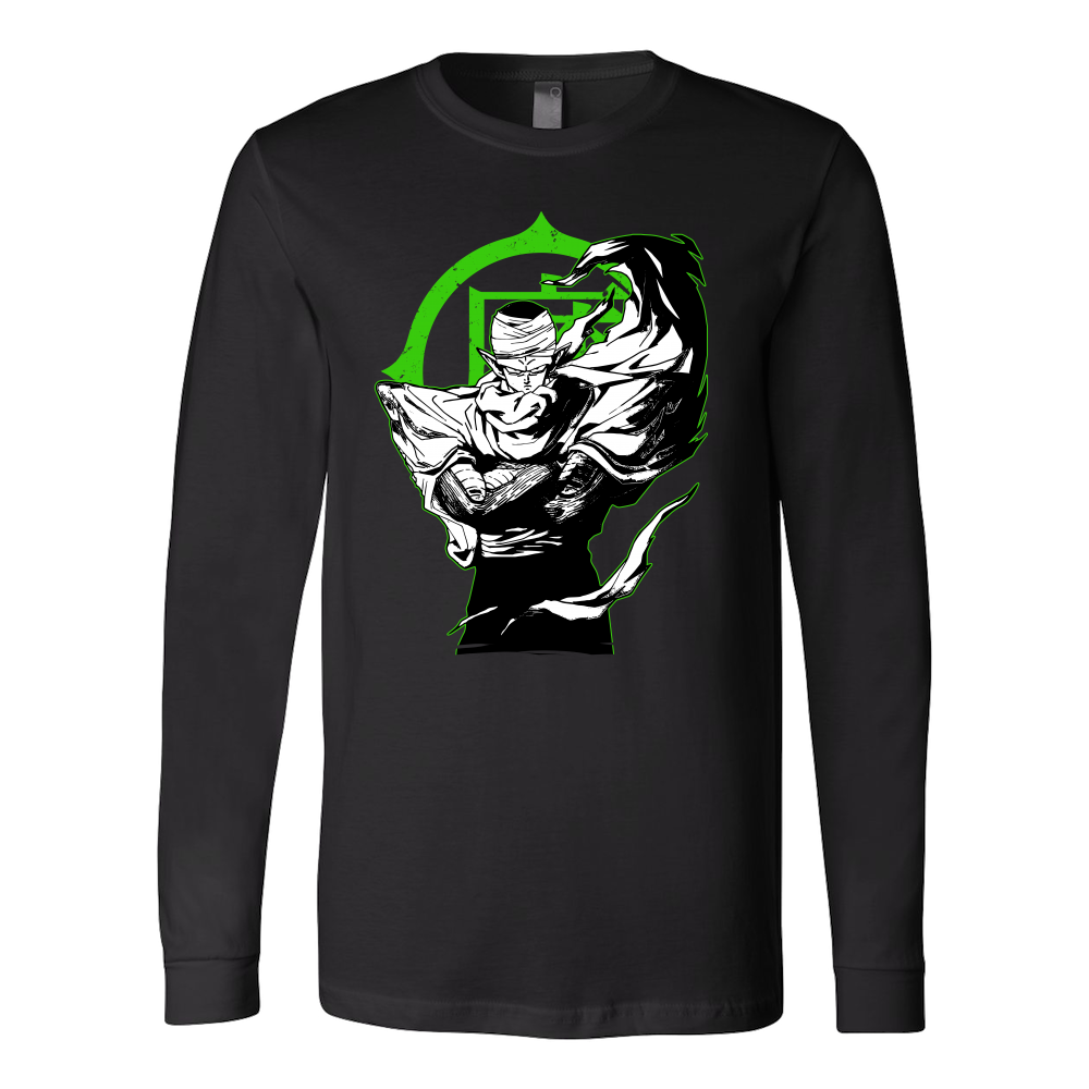 Saiyan Namek Piccolo Long Sleeve T shirt - TL00009LS