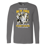 Super Saiyan New York Group Long Sleeve T shirt - TL00062LS