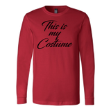 Halloween - This is my costume 2 - Men Long Sleeve T Shirt - TL00795LS