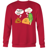 Taco mexican i'm feeling really crappy today Sweatshirt Funny T Shirt - TL00568SW